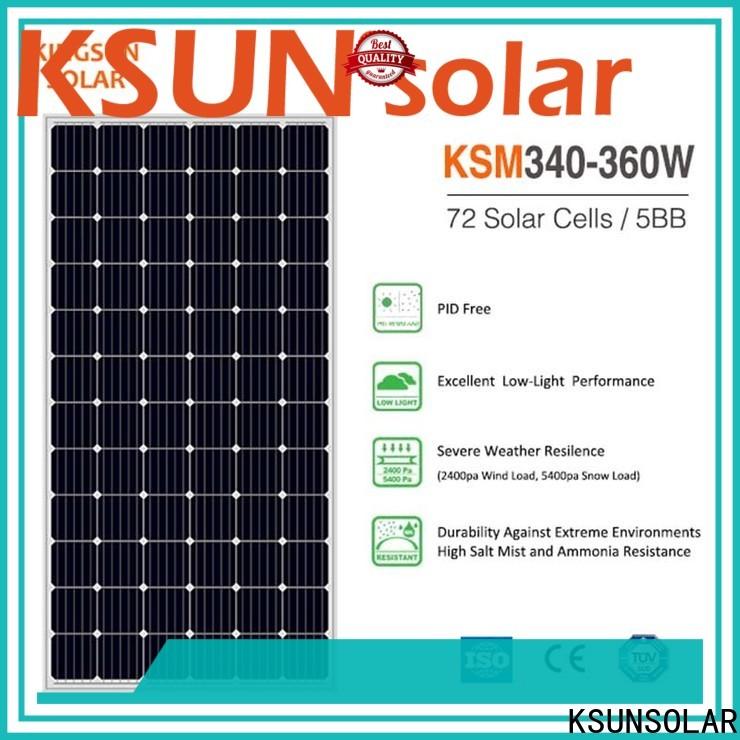 KSUNSOLAR solar power solar panels factory for powered by