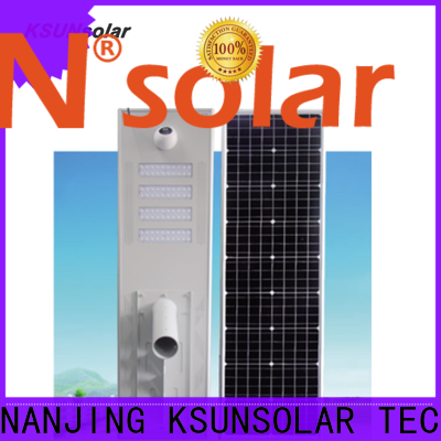 Top solar powered street lights Supply For photovoltaic power generation
