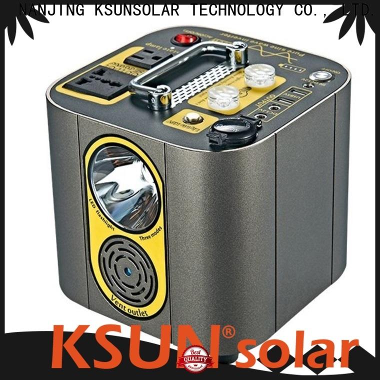 KSUNSOLAR portable power supply solar for powered by