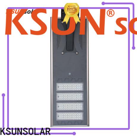 KSUNSOLAR solar street lighting Supply for powered by