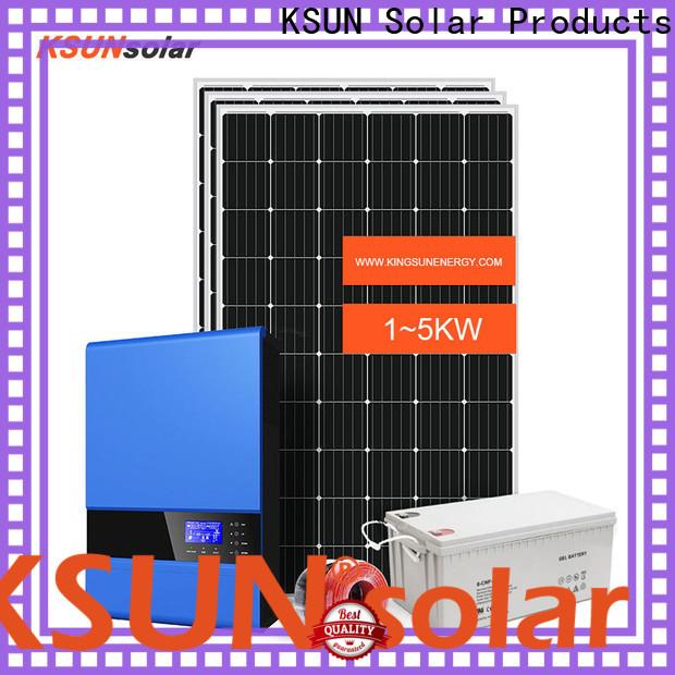 KSUNSOLAR Best off grid solar solutions manufacturers for Power generation