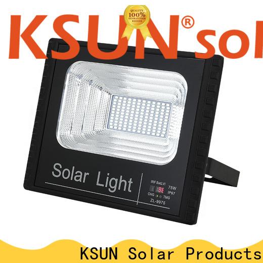 KSUNSOLAR solar security flood lights for business for Energy saving