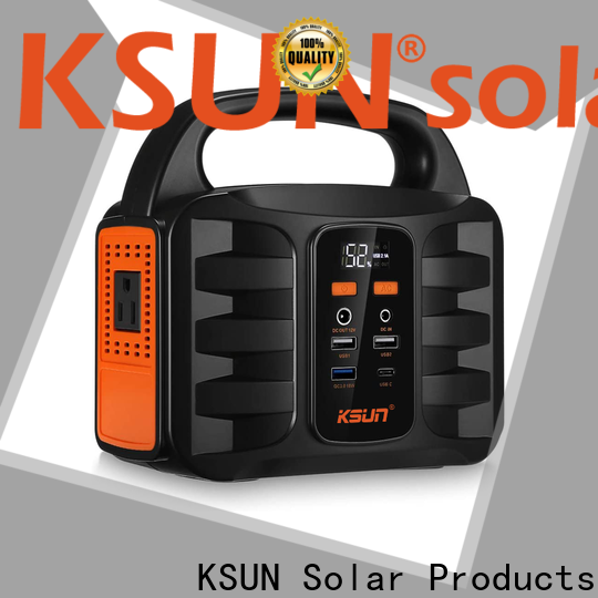 KSUNSOLAR best portable power generator factory for powered by