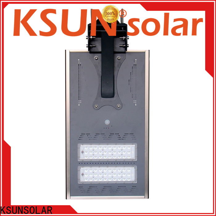 KSUNSOLAR Latest solar powered street lights manufacturers Supply For photovoltaic power generation