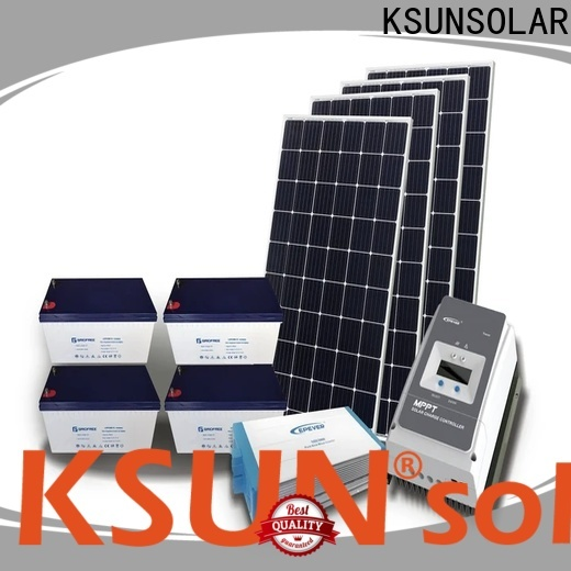 KSUNSOLAR solar power products for business For photovoltaic power generation