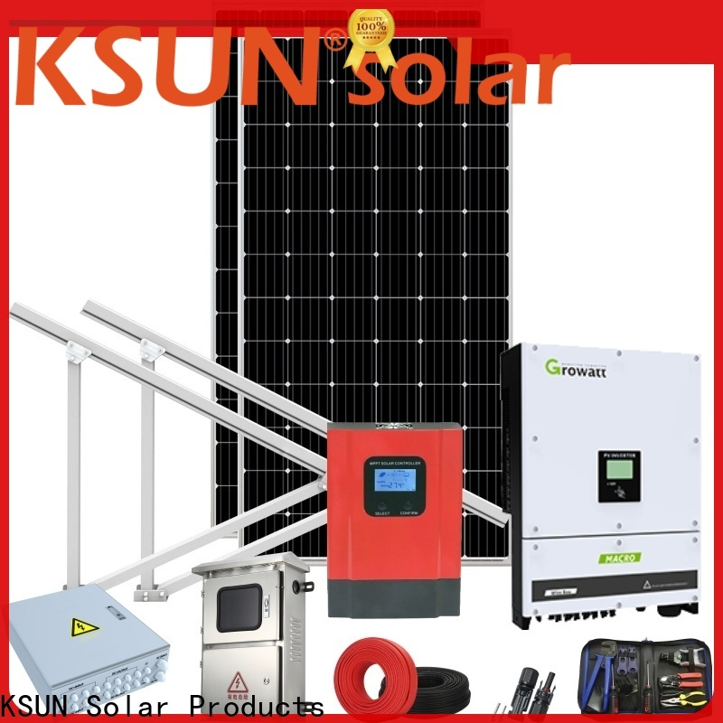 KSUNSOLAR solar panel power system manufacturers for Environmental protection