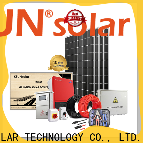 KSUNSOLAR solar power energy system factory for powered by