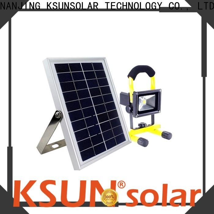 KSUNSOLAR high powered solar flood lights for business For photovoltaic power generation