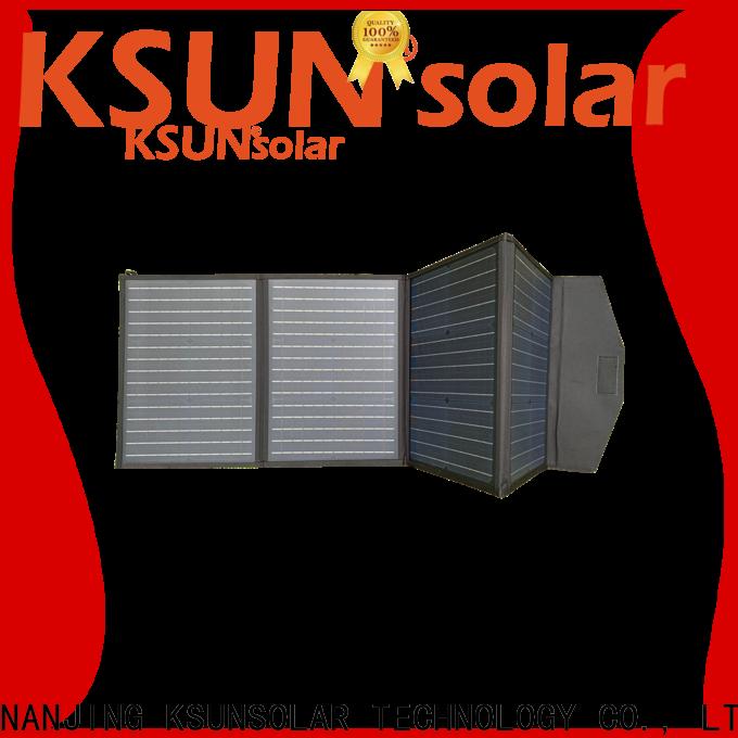 KSUNSOLAR flexible folding solar panels Supply for Energy saving