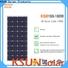 KSUNSOLAR monocrystalline silicon solar panels Supply for Power generation