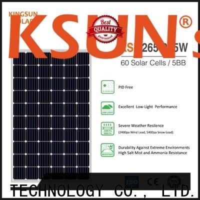 KSUNSOLAR monocrystalline panels Suppliers for Power generation