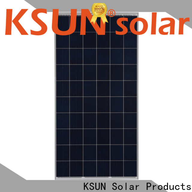 KSUNSOLAR poly panel price factory for powered by