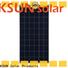 KSUNSOLAR polycrystalline silicon solar panel price Supply for Power generation