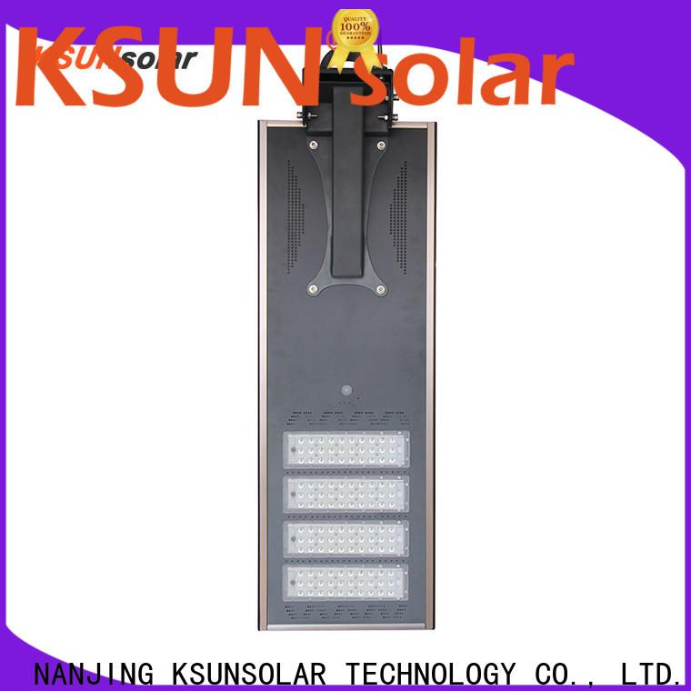 KSUNSOLAR Custom solar powered streetlights manufacturers for powered by