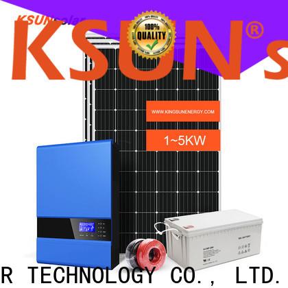 KSUNSOLAR off grid solar panels Suppliers for Power generation