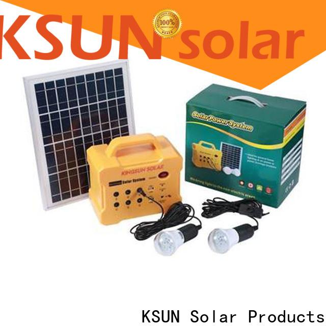 KSUNSOLAR portable solar power generator factory for powered by