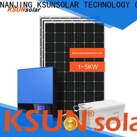 KSUNSOLAR off grid solar panel kits company for Power generation