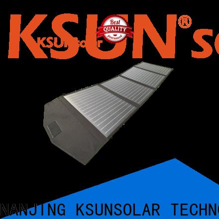 KSUNSOLAR folding solar panels sale Suppliers for Environmental protection