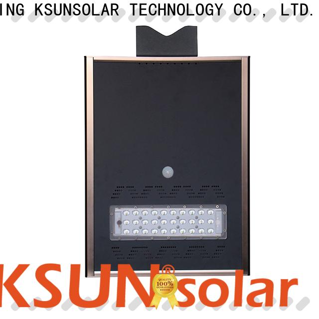 KSUNSOLAR outdoor solar powered street lights company for Environmental protection