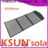 KSUNSOLAR foldable panels factory for Energy saving