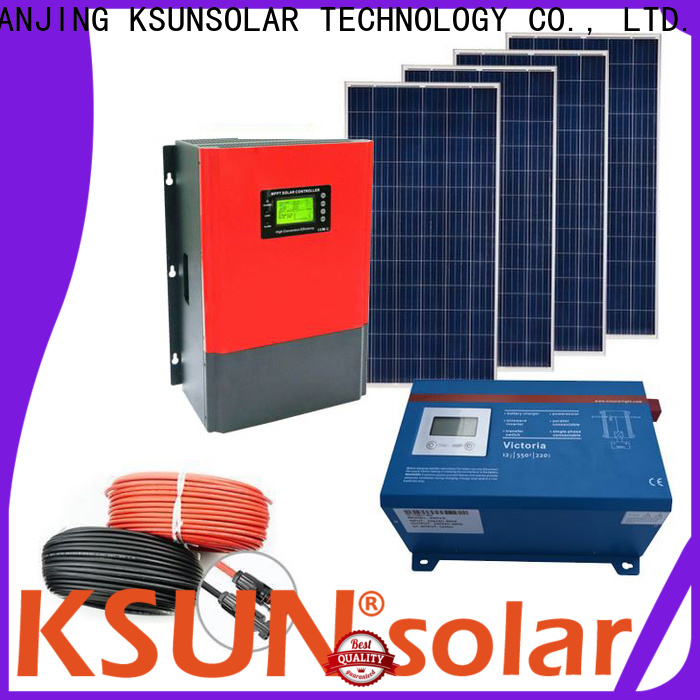 KSUNSOLAR solar equipment Suppliers for Environmental protection