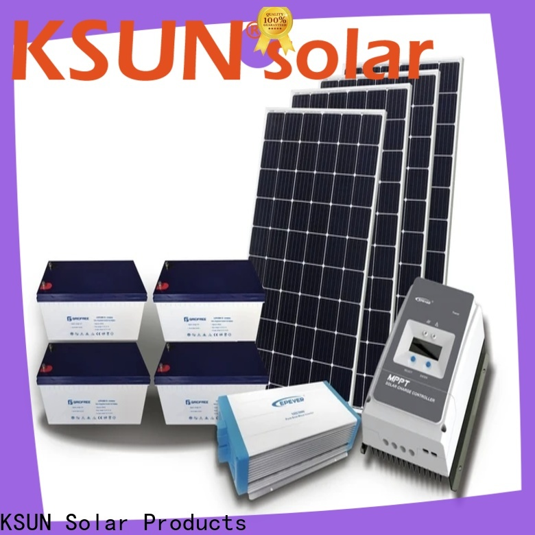 Latest off grid solar systems kits factory for Energy saving