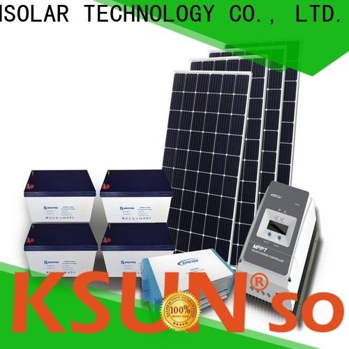 KSUNSOLAR New hybrid solar system price Supply for Energy saving