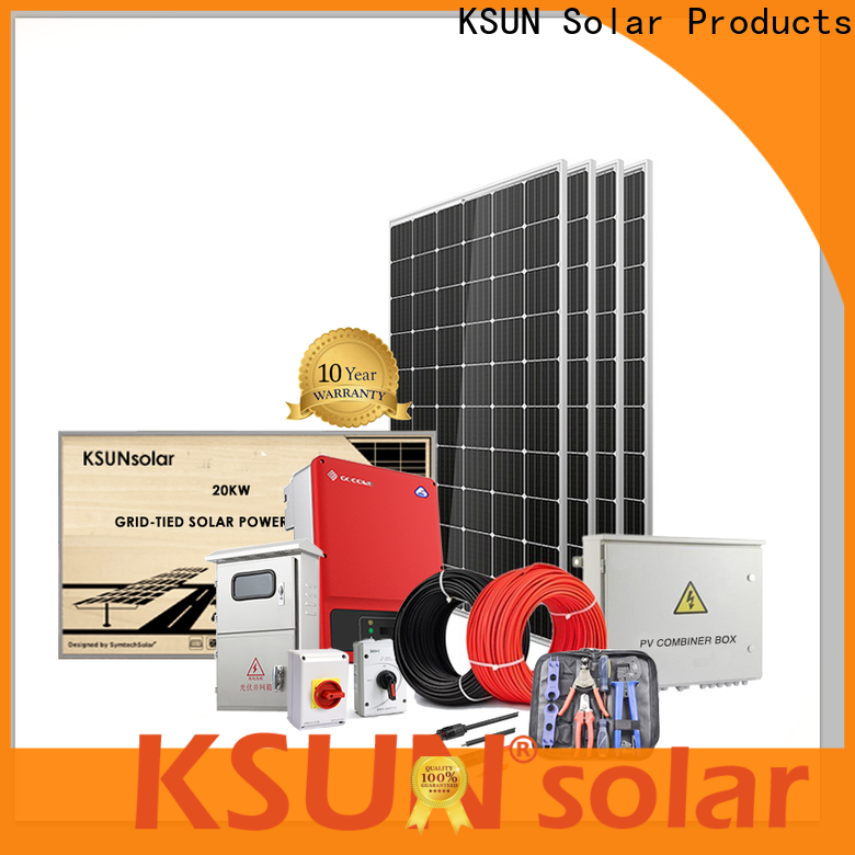 KSUNSOLAR Custom solar system equipment suppliers Supply for Environmental protection
