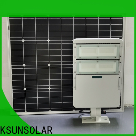 KSUNSOLAR outdoor solar led flood lights Supply for powered by