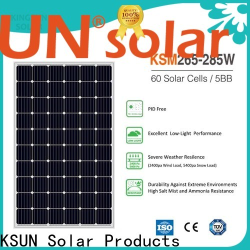 KSUNSOLAR New solar panel suppliers company For photovoltaic power generation