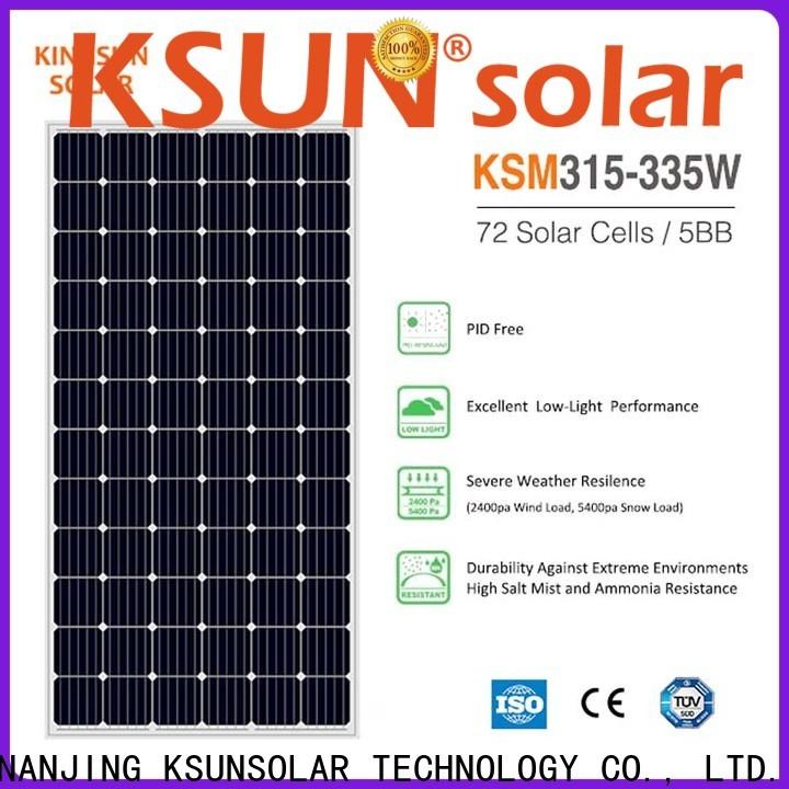 KSUNSOLAR Wholesale mono panel factory for Power generation