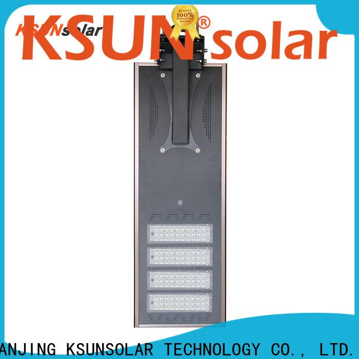 KSUNSOLAR New solar powered led street light for business for Environmental protection