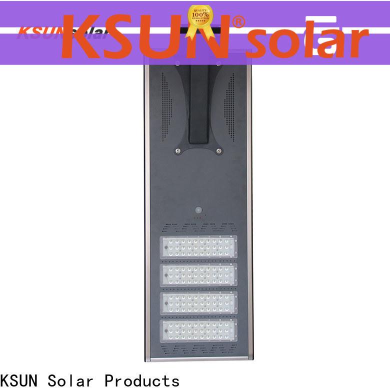 KSUNSOLAR solar street light with panel for business for Environmental protection