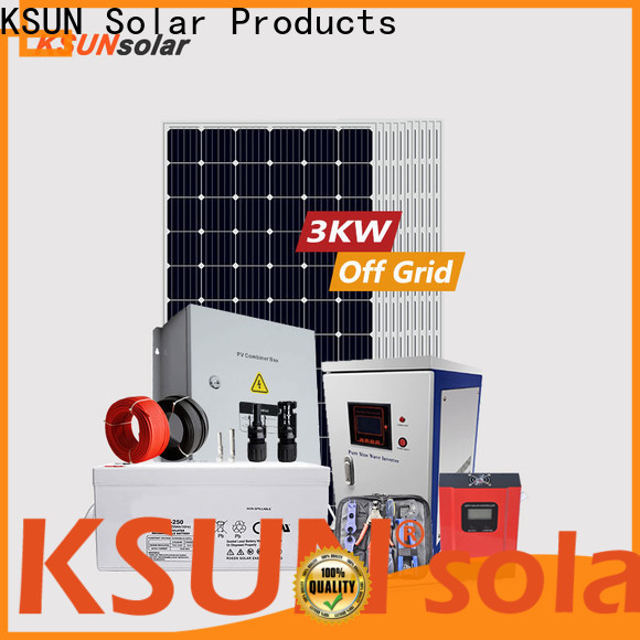 KSUNSOLAR New best off grid solar power system manufacturers For photovoltaic power generation