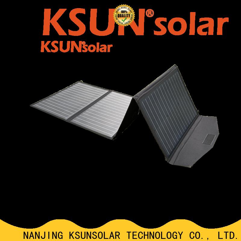 KSUNSOLAR Custom folding solar panels for sale for business for powered by