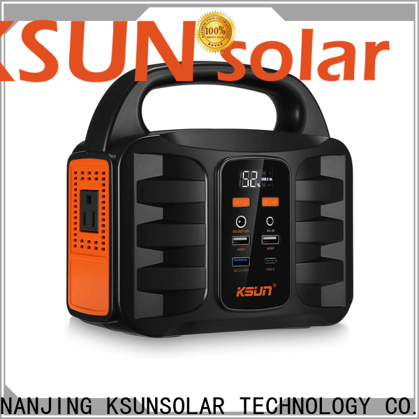 KSUNSOLAR portable power supply generator Supply for powered by