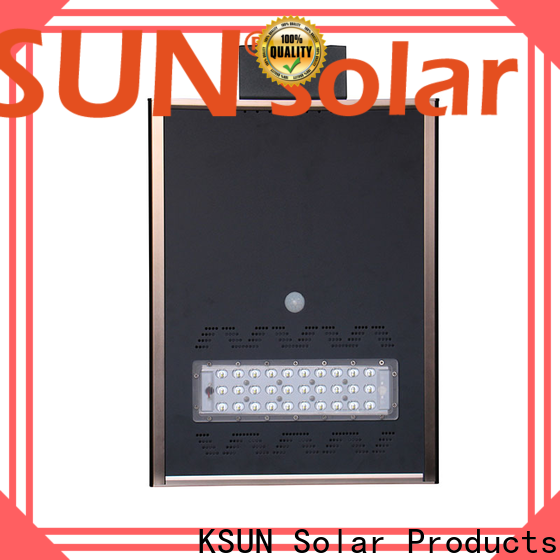KSUNSOLAR solar powered street lights for sale Suppliers for Power generation