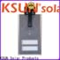 KSUNSOLAR solar street light with panel manufacturers for Power generation