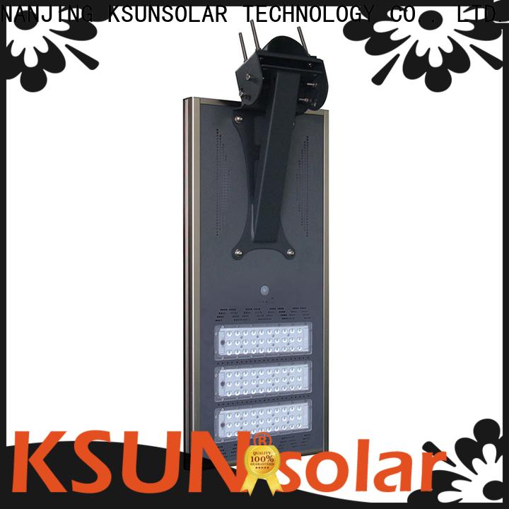 KSUNSOLAR Best solar powered led street lights for business for Environmental protection