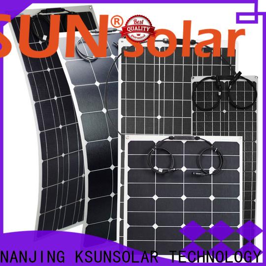 KSUNSOLAR Custom flexible solar power panels Supply for Energy saving