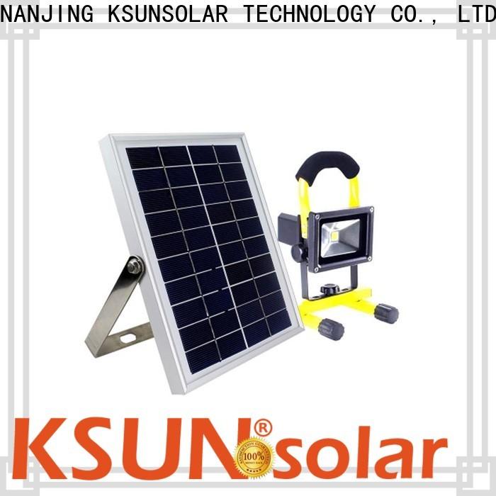 KSUNSOLAR High-quality solar flood lamps company for Environmental protection