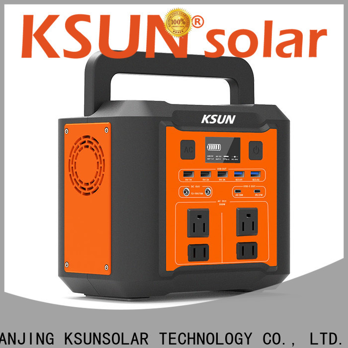 KSUNSOLAR rechargeable portable power generator company For photovoltaic power generation