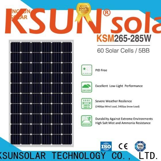 KSUNSOLAR monocrystalline silicon solar panel Supply for Environmental protection