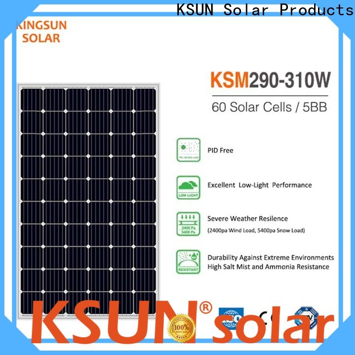 New mono solar panels price for business For photovoltaic power generation