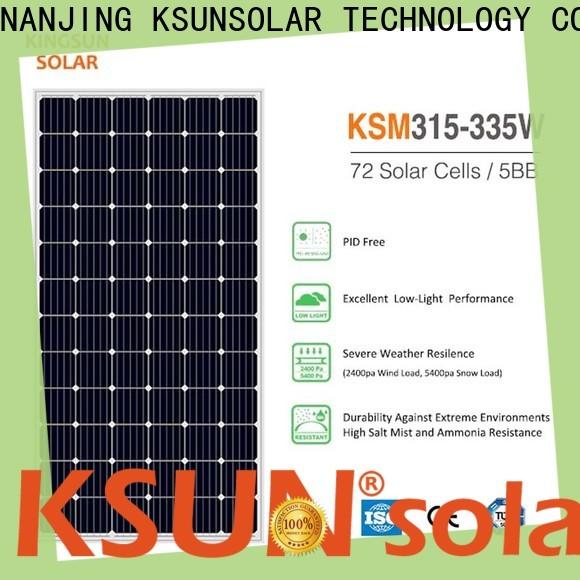 KSUNSOLAR monocrystalline panels company for Power generation