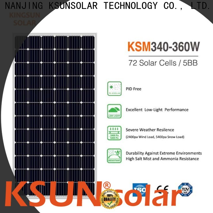 Latest monocrystalline silicon solar panels price manufacturers for Power generation