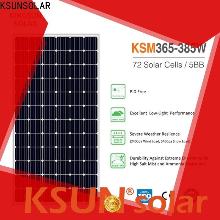 KSUNSOLAR best monocrystalline solar panels for business for Energy saving