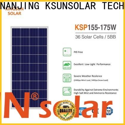 KSUNSOLAR Top photovoltaic cell polycrystalline solar panel Suppliers for Energy saving