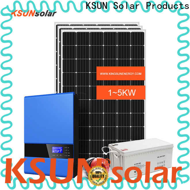 KSUNSOLAR Best off grid panels Suppliers For photovoltaic power generation