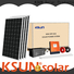 KSUNSOLAR grid-tied solar power system manufacturers for powered by